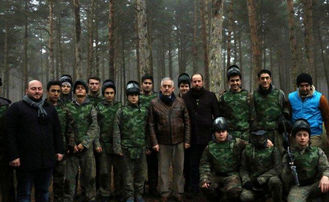 Başkan Aydın, Kastamonu'daki Kış Gençlik Kampı'nı ziyaret etti