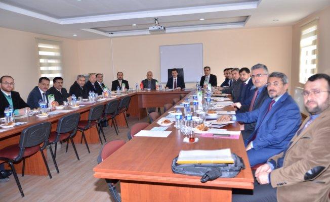 Hanönü'de İlçe Müftüleri toplantısı yapıldı