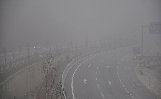 Ilgaz Dağı'nda sis etkili oluyor