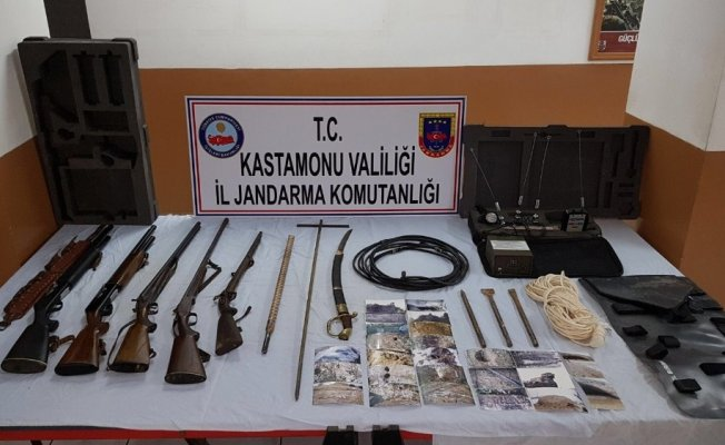 Kastamonu'da tarihi eser operasyonu: 4 gözaltı