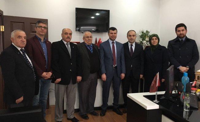 Özdemir, BİK Şube Müdürlüğünü ziyaret etti