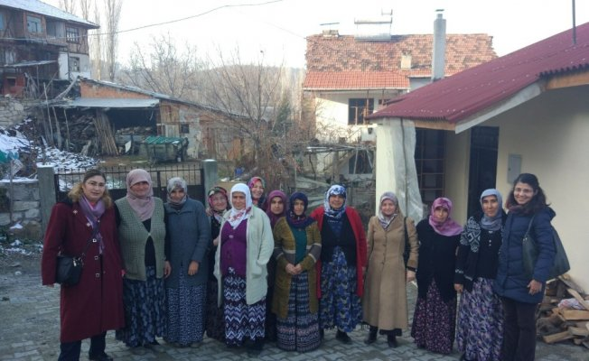 Tosya'da Kadın Çiftçi Eğitimi yapıldı