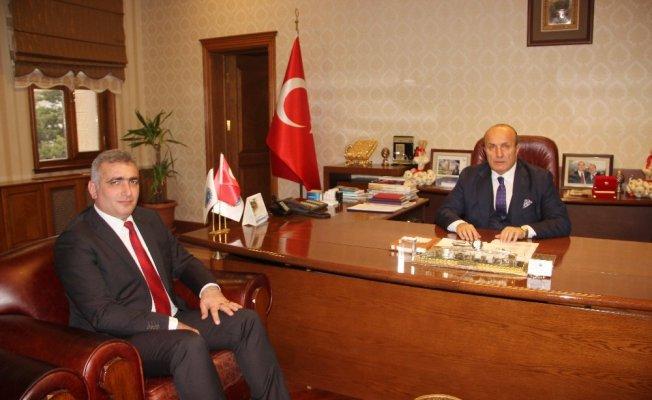 Yeni Orman Müdürü Kalaycı, Başkan Arslan'ı ziyaret etti