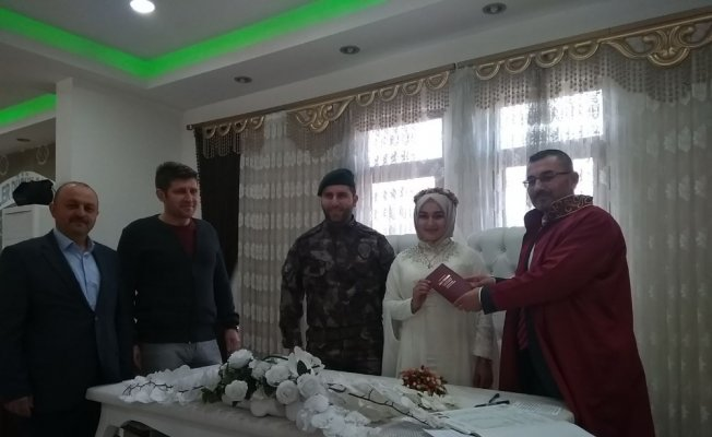 Kastamonu'da ilk imam nikahı kıyıldı