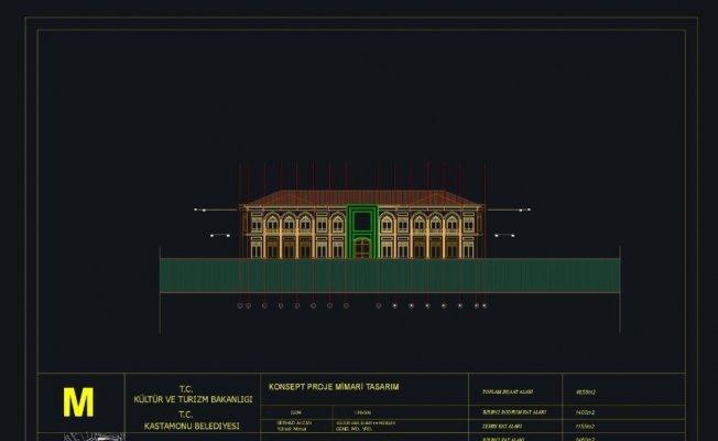 Kültür Merkezi ve Kütüphane'nin konsept projesi hazırlandı