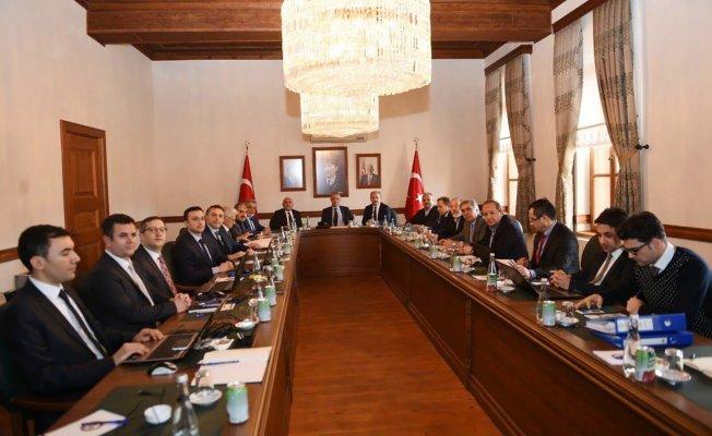 KUZKA Yönetim Kurulu Kastamonu'da toplandı
