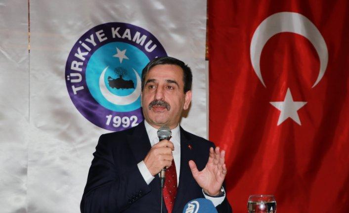 Türk Kamu-Sen genel başkanı Önder Kahveci resimleri ile ilgili görsel sonucu