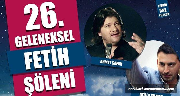 Ahmet Şafak, Fetih Şöleninde Konser Verecek
