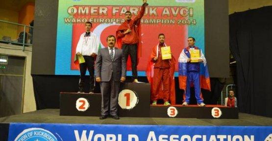 Avrupa Kick Boks Şampiyonasında Türkiye Farkı