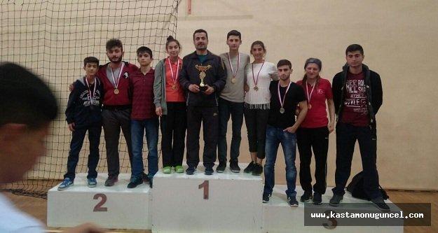 Taşköprü Liderspor, Kick Boksta 7 Madalya Döndü